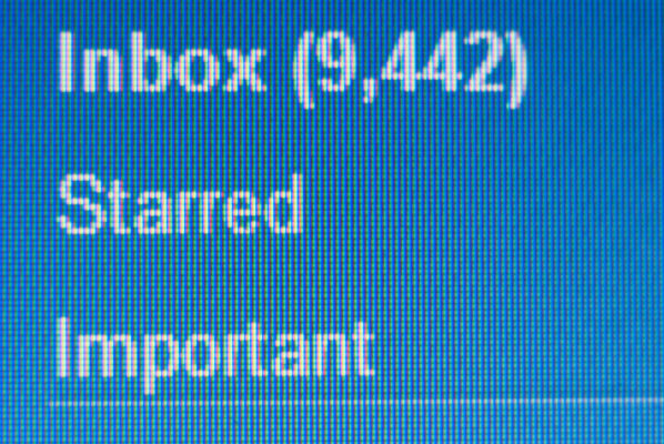 inbox anxiety