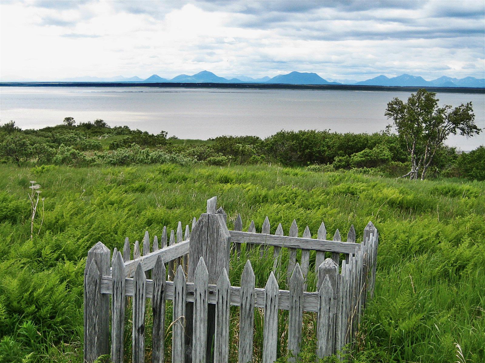 Rural Alaskan Grave
